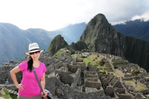 I love it!  Machu Picchu!
